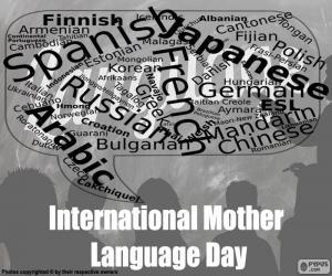 Puzle Dia Internacional da Língua Materna