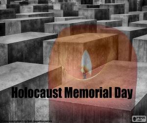 Puzle Dia Internacional da Lembrança do Holocausto