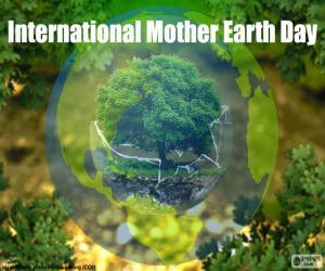 Puzle Dia Internacional da Mãe Terra