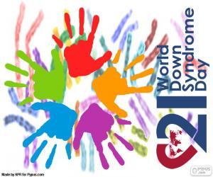 Puzle Dia Internacional da Síndrome de Down