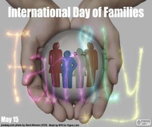 Puzle Dia internacional das famílias