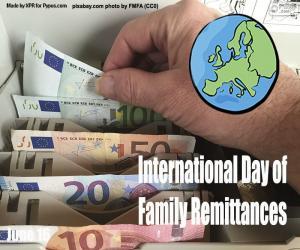 Puzle Dia Internacional das Remessas familiares