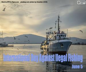Puzle Dia Internacional de Combate à Pesca Ilegal