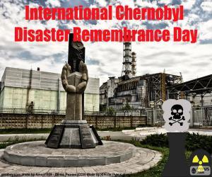 Puzle Dia Internacional de Lembrança do Desastre de Chernobyl