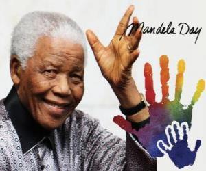 Puzle Dia Internacional de Nelson Mandela, 18 de julho