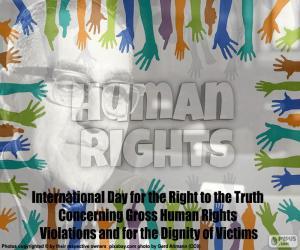 Puzle Dia internacional do direito à verdade
