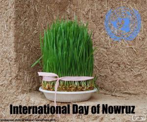 Puzle Dia internacional do Noruz