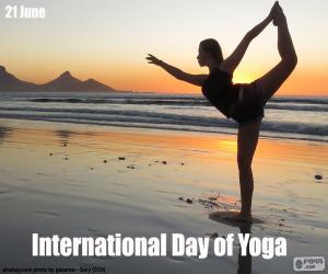 Puzle Dia Internacional do Yoga