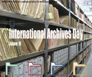 Puzle Dia Internacional dos Arquivos