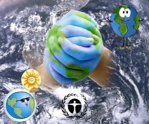 Puzle Dia Internacional para a Preservação da Camada de Ozônio, 16 de setembro
