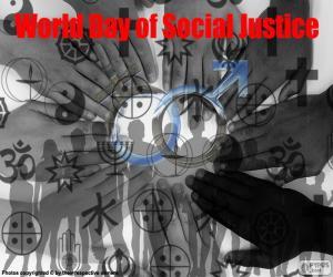 Puzle Dia Mundial da Justiça Social