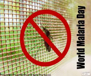 Puzle Dia Mundial da Malária