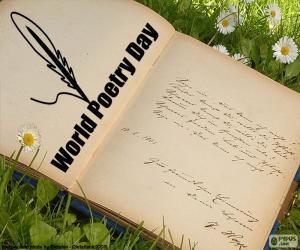 Puzle Dia Mundial da Poesia