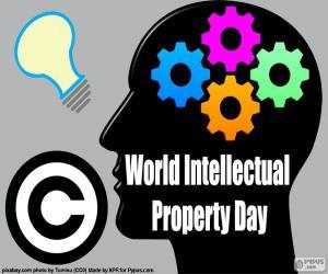 Puzle Dia Mundial da propriedade intelectual