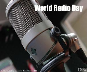 Puzle Dia Mundial da Rádio