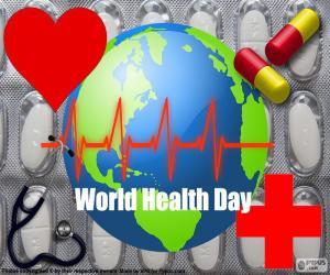 Puzle Dia Mundial da Saúde