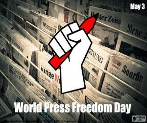 Puzle Dia Mundial de liberdade de imprensa