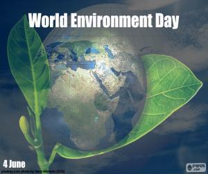 Puzle Dia Mundial do Ambiente