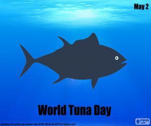 Puzle Dia Mundial do atum