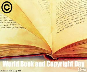 Puzle Dia Mundial do Livro e do Direito de Autor