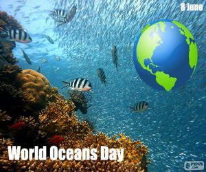 Puzle Dia Mundial dos Oceanos