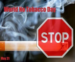 Puzle Dia Mundial Sem Tabaco