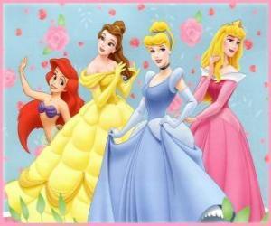 Puzle Disney Princesas