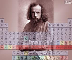 Puzle Dmitri Mendeleev