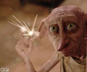Puzle Dobby, um elfo da casa de Harry Potter