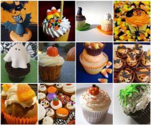 Puzle doces de Halloween