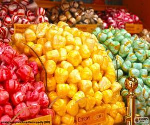Puzle Doces e suas cores