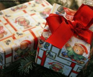 Puzle Dois presentes de Natal