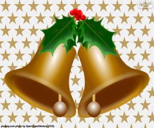 Puzle Dois sinos de Natal