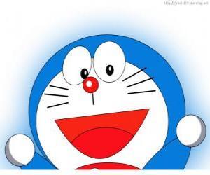 Puzle Doraemon é o amigo mágico de Nobita e protagonista das aventuras
