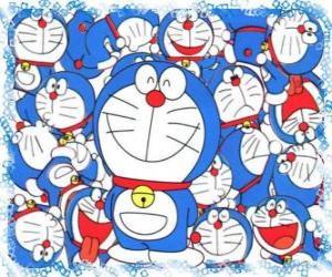 Puzle Doraemon é um gato cósmico que vem do futuro