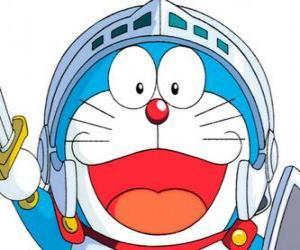 Puzle Doraemon em uma de suas aventuras