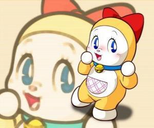 Puzle Dorami, Dorami-chan é a irmã mais nova de Doraemon