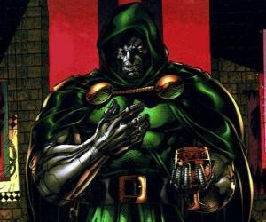Puzle Doutor Doom é um supervilão e inimigo do Quarteto Fantástico
