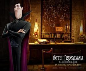 Puzle Dracula, o proprietário do Hotel Transilvânia