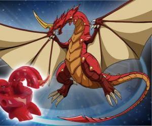 Puzle Dragonoid é uma das espécies mais poderosas de Vestroia