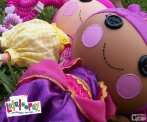 Puzle Duas bonecas Lalaloopsy