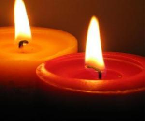 Puzle Duas velas