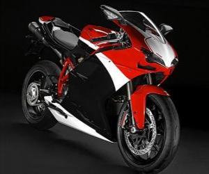 Puzle Ducati 848 EVO, 2012