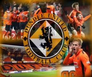 Puzle Dundee United FC, clube de futebol escocês