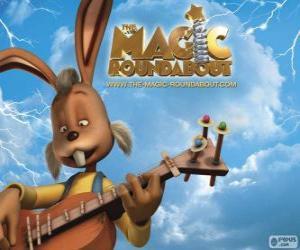 Puzle Dylan, o coelho que toca guitarra