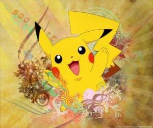 Puzle É um pokémon rato amarelo, tipo elétrico.