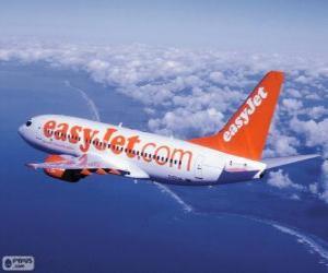 Puzle easyJet Airline Company Limited, é uma companhia aérea de baixo custo