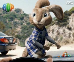Puzle EB, o rebelde coelho da Páscoa