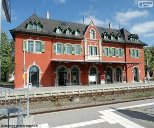 Puzle Edifício da estação