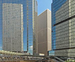 Puzle Edifícios de Hong Kong
